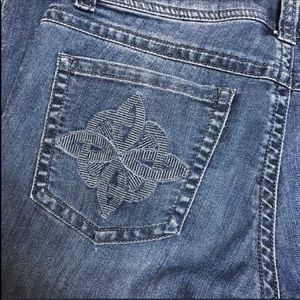 CAbi 331R Contemporary Celtic Knot Bootcut Jeans